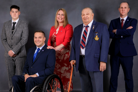 Decades of Support featuring RAF veteran Reg Lawrence